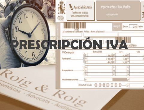 PRESCRIPCION IVA